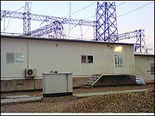 پروژه کانکس پست برق بافق