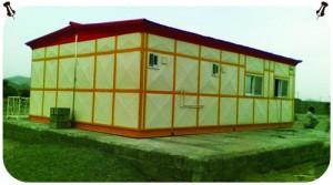 پروژه کانکس بیمارستان صحرایی